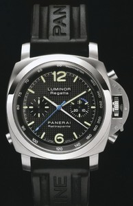 Officine Panerai Panerai Luminor 1950 Regatta Rattrapante Steel PAM 00286
