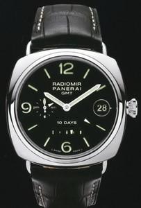 Officine Panerai Panerai Radiomir 10 Days GMT White Gold PAM 00235