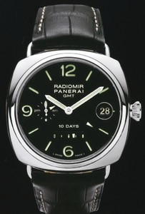 Officine Panerai Panerai Radiomir 10 Days GMT White Gold PAM 00235