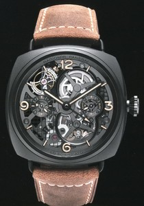 Officine Panerai Radiomir Tourbillon GMT Ceramic PAM 00350