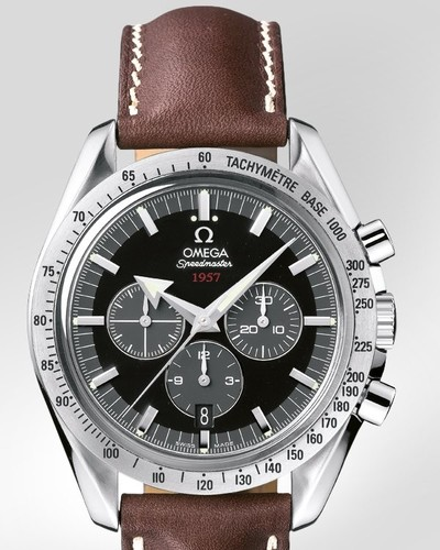 Omega Speedmaster Broad Arrow (SS / Black / Leather) 321.12.42.50.01.001