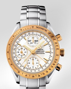 Omega Speedmaster Day Date ( SS - YG / Silver / SS) 323.21.40.44.02.001