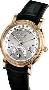 Parmigiani Fleurier Parmigiani Toric Perpetual Calendar (RG / Silver / Leather) PF002645-01