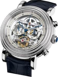 Parmigiani Fleurier Toric Chronograph Tourbillon Skeleton (Platinum / Sapphire-Skeleton / Strap) PF602717-01