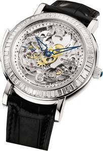 Parmigiani Fleurier Toric Minute Repeater Skeleton with Diamonds (Platinum-Diamond / Sapphire-Skeleton / Strap) PF600534-01
