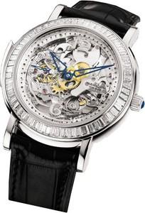 Parmigiani Fleurier Toric Minute Repeater Skeleton with Diamonds (Platinum-Diamond / Sapphire-Skeleton / Strap) PF600534-01