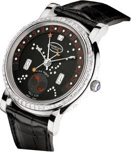 Parmigiani Fleurier Toric Retrograde Perpetual Calendar (WG-Baguettes / Luna Rossa / Leather) PF011587-01