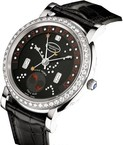 Parmigiani Fleurier Toric Retrograde Perpetual Calendar (WG-Diamonds / Luna Rossa / Leather) PF011589-01