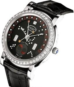 Parmigiani Fleurier Toric Retrograde Perpetual Calendar (WG-Diamonds / Luna Rossa / Leather) PF011589-01