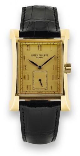Patek Philippe Patek 5500J YG / Gold / Leather Strap