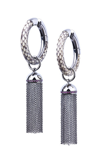 Cantamessa Python Earrings ER 474