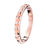 Boucheron Pointe de Diamant Pink Gold Wedding Band