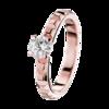 Boucheron Pointe de Diamant Pink Gold Solitaire