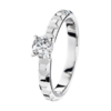 Boucheron Pointe de Diamant Platinum Solitaire