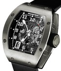 Richard Mille Automatic Skeleton RM 010-1 White Gold