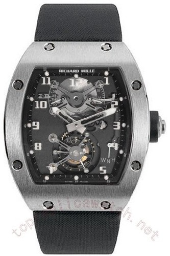 Richard Mille Chronograph Rattrapante RM 002 V2 White Gold