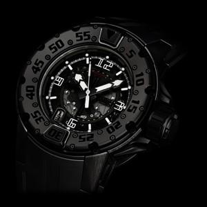 Richard Mille RM 028 Boutique Special All Black Divers (Titanium-DLC / Skeletonized / Rubber Strap)