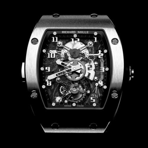 Richard Mille Tourbillon Dual Time RM 003 V2 Platinum