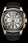 Roger Dubuis La Monegasque Chronograph (PG-Black PVD / Gray / Leather Strap) RDDBMG0004