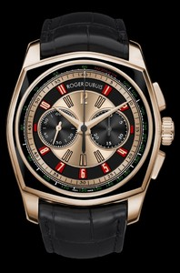 Roger Dubuis La Monegasque Limited Edition Chronograph (PG-Black DLC /PG / Leather Strap) RDDBMG0003