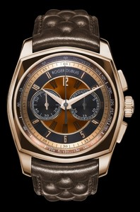 Roger Dubuis La Monegasque Limited Edition Chronograph (PG-Brown DLC / PG-Organic Shell / Brown Chesterfield Strap) RDDBMG0007