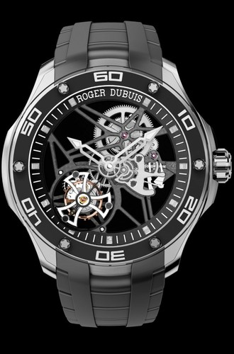 Roger Dubuis Pulsion Skeleton Flying Tourbillon Titanium RDDBPU0002