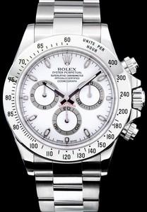Rolex Cosmograph Daytona (SS / White / SS) 116520
