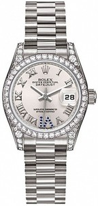 Rolex Datejust 26mm White Gold 179159 Saph