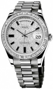 Rolex Day-Date 41mm White Gold 218399-83219