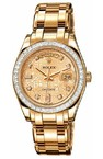 Rolex Day-Date Masterpiece (YG-Baguettes / Jubilee / YG) 18958BRIL