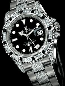 Rolex GMT-Master II (WG-Diamonds-Sapphires / Black / WG-Diamonds) 116759 SANR