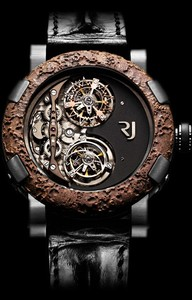 Romain Jerome Day and Night ( SS-PVD / Skeleton / Black Strap) DN.T.OXY4.BBBB.00