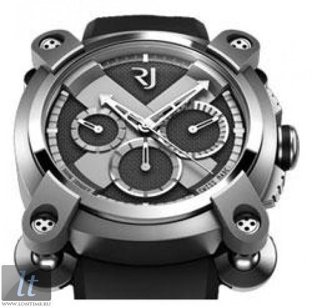 Romain Jerome Moon Invader Eminence Grise Chronograph (RG-Gray PVD Steel    Dark Grey ef871c4776