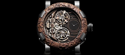 Romain Jerome Titanic-DNA - Day and Night - Double Tourbillon Spiral- WORLD FIRST DN.TS.OXY3.BBBB.00