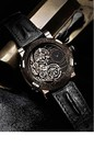 Romain Jerome Titanic-DNA - Day and Night Spiral (SS-PVD / Black Skeleton / Black Strap) DN.TS.OXY3.11BB.00
