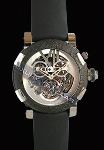 Romain Jerome Titanic-DNA - Rusted steel T-OXY III Chronograph Tourbillon/Steel TO.CH.T.OXY3.11BB.00.BB
