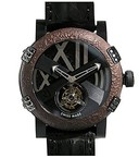 Romain Jerome Titanic-DNA - rusted steel T-OXY III Tourbillon / Black TO.T.OXY3.BBBB.10