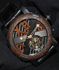 Romain Jerome Titanic-DNA - rusted steel T-OXY III Tourbillon / Bronze TO.T.OXY3.BBBB.Bronze.00