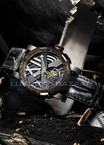 Romain Jerome Titanic-DNA - rusted steel T-OXY III Tourbillon / Steel TO.T.OXY3.11BB.00