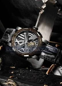 Romain Jerome Titanic-DNA - rusted steel T-OXY III Tourbillon / Steel TO.T.OXY3.11BB.00