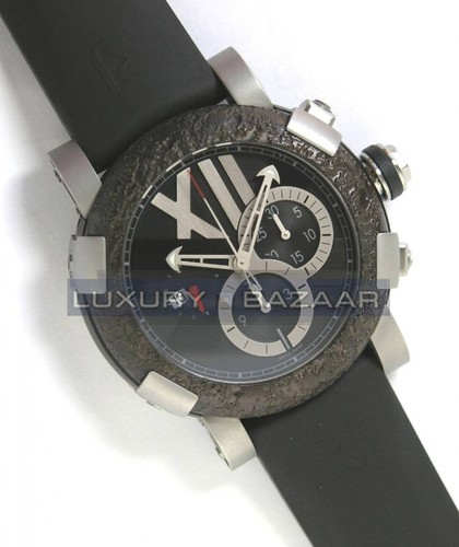Romain Jerome Titanic-DNA - Rusted steel T-OXY IV Chronograph/Steel CH.T.OXY4.11BBM.00.BB