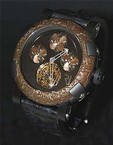 Romain Jerome Titanic-DNA - rusted steel T-OXY IV Tourbillon A Helices TO.TH.OXY4.BBBB.00