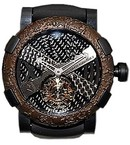Romain Jerome Titanic-DNA - rusted steel T-OXY IV Tourbillon Rodriguez Trauma/Black TO.TR.OXY4.BBBB.00