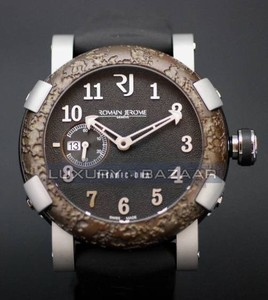 Romain Jerome Titanic-DNA – rusted steel T-OXY IV Ultimate / Steel T.OXY4.11BBM.00.BB