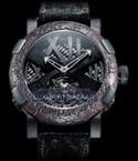 Romain Jerome Tourbillon Ultimate Black (SS-PVD /Skeleton / Black Strap) TO.T.OXY4.BBBB.00