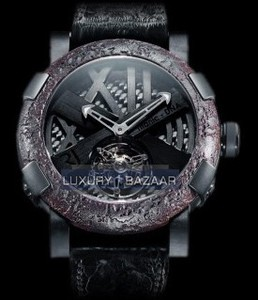 Romain Jerome Tourbillon Ultimate Black (SS-PVD /Skeleton / Black Strap) TO.T.OXY4.BBBB.00