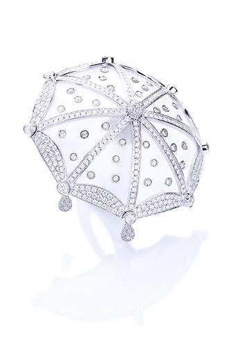 Cantamessa Umbrella Ring white RU2519