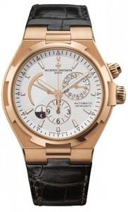 Vacheron Constantin Overseas Dual Time (RG / Silver / Leather) 47450/000R-9404