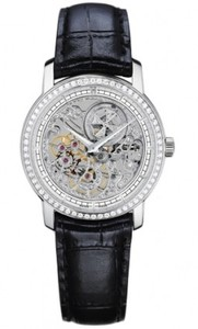 Vacheron Constantin Patrimony Traditionelle Openworked Small (WG-Diamonds) 33558/000G-9394