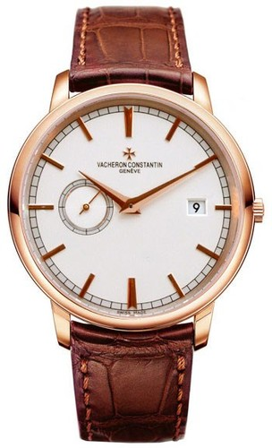 Vacheron Constantin Patrimony Traditionnelle Self-Winding (RG / Silver / Leather) 87172/000R-9302